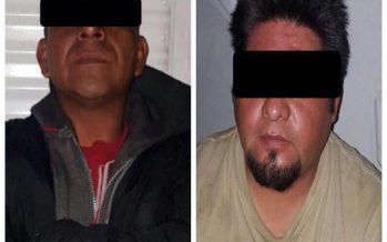 """Detienen a dos presuntos """"huachicoleros"""", en Iztapalapa"""