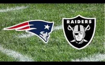 Boletos para Raiders-Patriotas en México saldrán a la venta el 16 de agosto