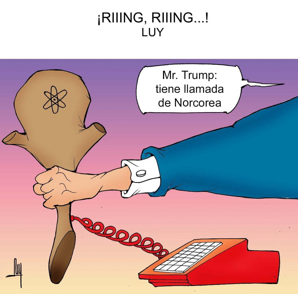 Ring, ring. Por Luy