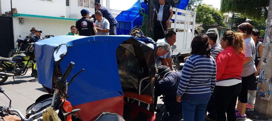 Operativo en Xochimilco: Semovi asegura 39 mototaxis