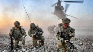 Soldados británicos. Foto: HispanTV