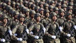 Soldados chinos. Foto: HispanTV