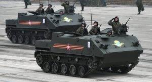 Tanques de guerra rusos. Foto: Maxim Blinov/ Sputnik