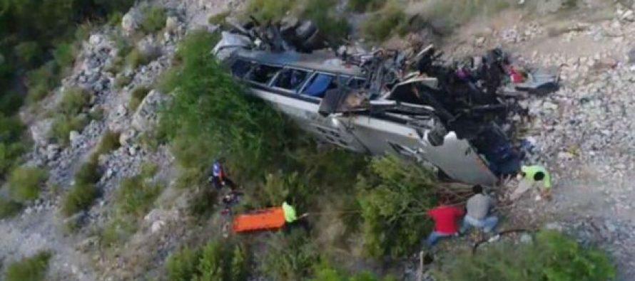 Chocan autobús y tráiler en Tamaulipas: 12 muertos
