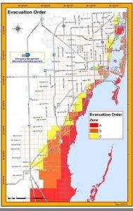 órdenes de evacuación en Florida. VOA