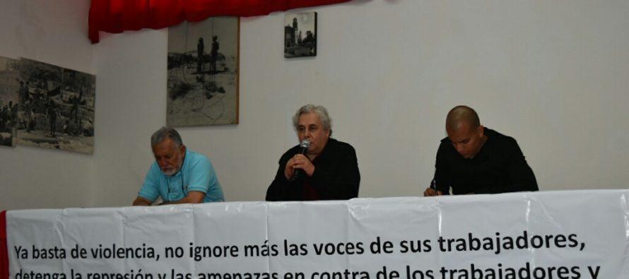 Denuncian actitud represiva del Gobierno de la Ciudad de México
