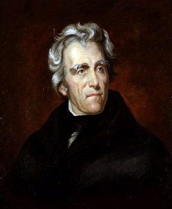 Andrew Jackson. Foto: Wikipedia