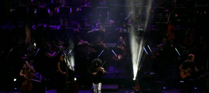 """Ara Malikian presentó de manera espectacular""""La increíble historia de violín""""en el Auditorio Nacional"""