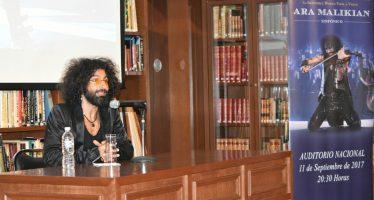 Ara Malikian se presentará por primera vez en el Auditorio Nacional