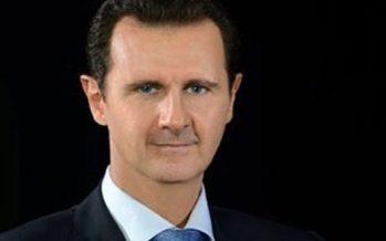 Felicita Assad a Ejército sirio por victoria sobre Daesh