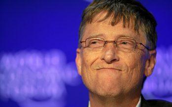 Bill Gates usa un teléfono celular con sistema operativo… ¡Android!