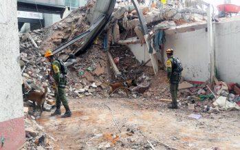 Ya son 343 fallecidos en el país por sismo del 19 de septiembre
