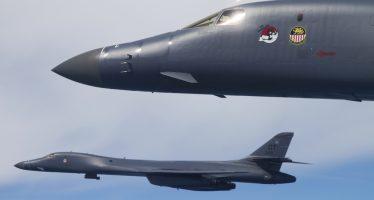 Bombarderos de EEUU se aproximaron a Corea del Norte
