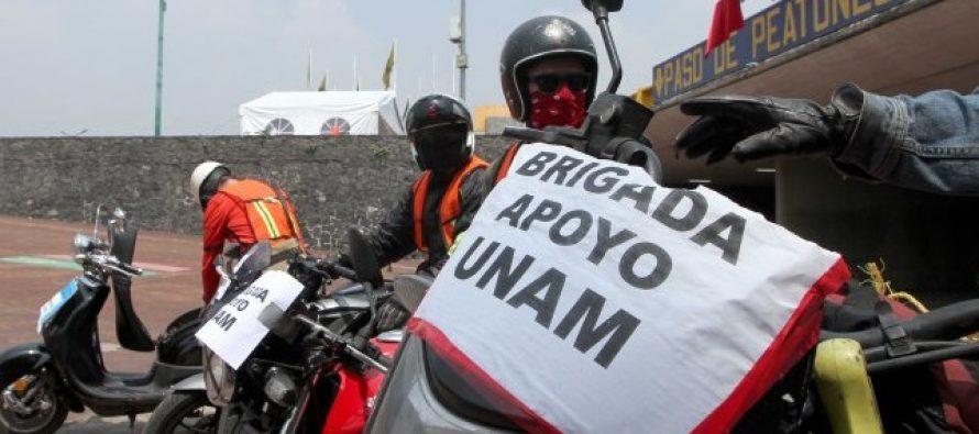 Brigadas de la UNAM permanecen en Santa Cruz Acalpixca