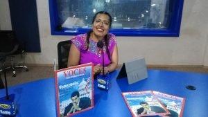 Fiscalista Cecy Tapia. Foto: Voces del Periodista