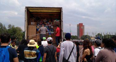 Pide UNAM aportar herramientas para remover escombros