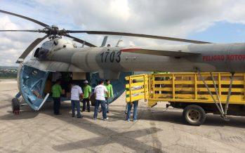 Deja un lesionado, caída de helicóptero de la FAM en Chiapas