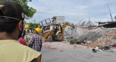 """Jojutla es una """"zona de guerra"""" tras sismo"""