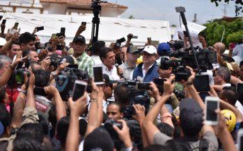 Peña Nieto llega a Jojutla; evalúa los daños