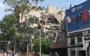 Dicen damnificados que se paró el rescate en Álvaro Obregón 286