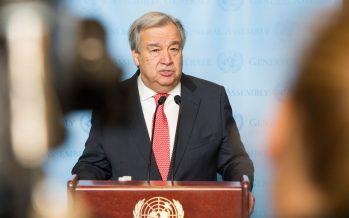 Secretario General de ONU pide evitar guerra con Corea del Norte