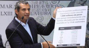 Renuncia de partidos a fondos públicos les acercaría dinero ilícito: INE