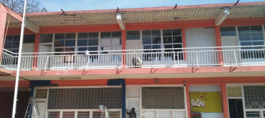 Reinician clases en 13 escuelas revisadas tras el sismo