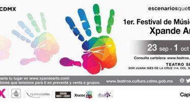 Llegan múltiples propuestas de artes escénicas para niños con el Festival de Música Infantil Xpande Arte 2017
