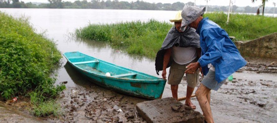 Alerta por riesgo de desbordamientos de ríos en Veracruz