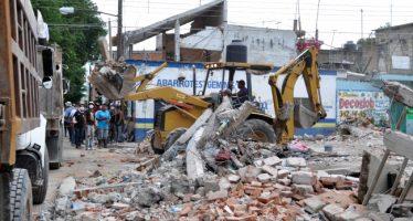 Miedo y escombros persisten en el epicentro del sismo