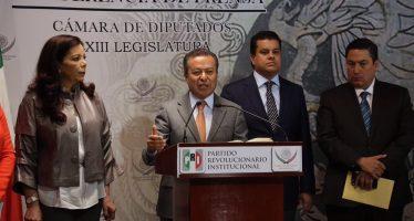Descarta el PRI vetar candidatura de Cervantes a Fiscalía