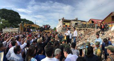 Peña Nieto envía un abrazo a Oaxaca por nuevo sismo