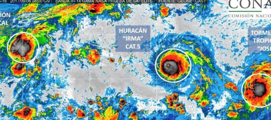 Irma toca tierra al norte de Cuba como categoría 5