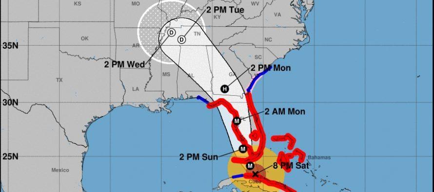 Ojo de huracán Irma se aleja de Miami y va a Tampa