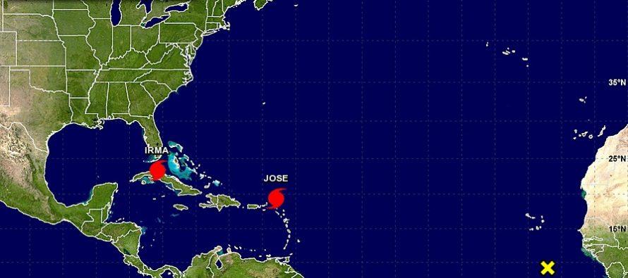 José golpea las Antillas Menores, ya devastadas por Irma