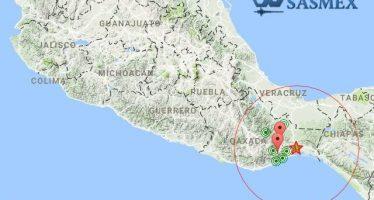 Ajusta Sismológico a 6.1 temblor de este sábado
