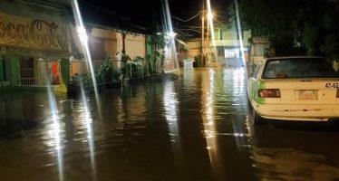 Viviendas inundadas en Guerrero al paso de Max