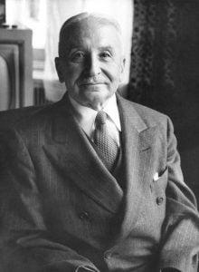 Ludwig von Mises. Foto: Wikimedia