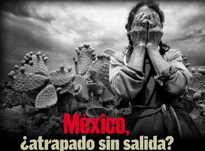 México. A trapado sin salida. Captura de oantalla