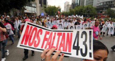 Familiares de los 43 de Ayotzinapa marcharán en la CDMX