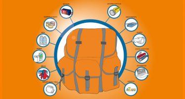 Mochila de emergencia es necesaria en casos de desastre