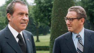 Richard Nixon (izquierda) y Henry Kissinger. Foto: Especial