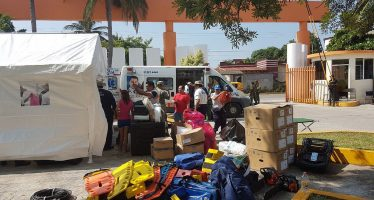 Un millón 600 mil damnificados en Chiapas y Oaxaca