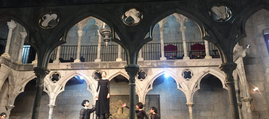 Vuelve el montaje dancísticoRomeo y Julietaa la Capilla Gótica