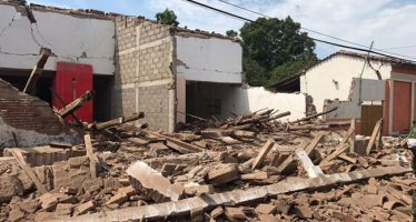 Restablecen servicios en Oaxaca, tras sismo