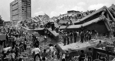 Simulacro recuerda el sismo de 1985, a 32 años del horror