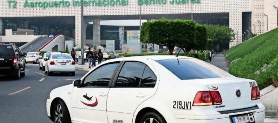 Cofece multa a taxis del AICM por aplicar tarifas monopólicas