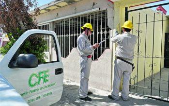 Restablecen servicio eléctrico a 99% de afectados por terremoto