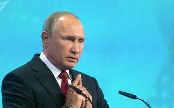 """Putin anticipa el perfil del futuro """"amo del mundo"""""""