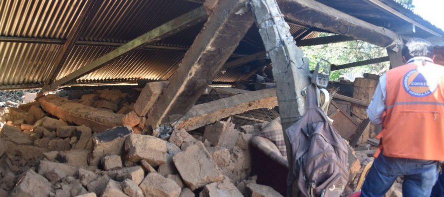 Sismo afectó a más de 4,700 viviendas en Guatemala